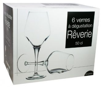 Reception Rêverie - 6 copas de vino (50 cl)