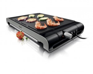 mejor plancha grill barata philips
