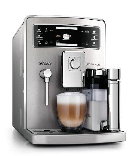 Saeco Xelsis EVO - Cafetera espresso súper automática, con espumador de leche...