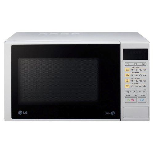 LG MH6342DS - Microondas y grill, 23 litros, 800W, color plateado
