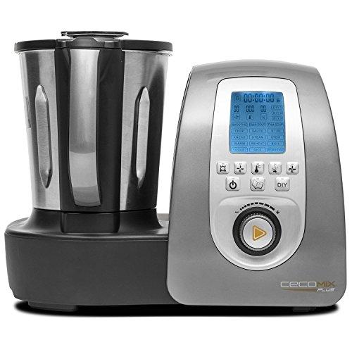 Robot de cocina multifunción que cocina y tritura, con 3,3 l de...