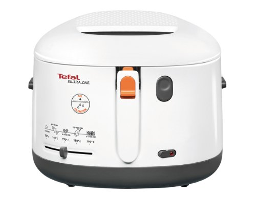Tefal FF1631 One Filtra - Freidora, color blanco
