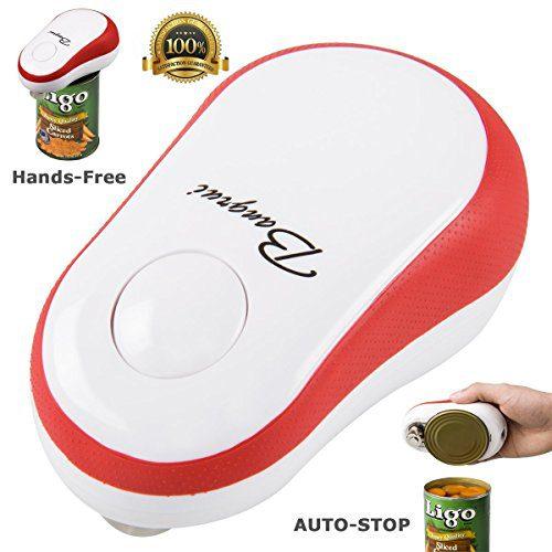 BangRui One Touch Soft abridor de latas eléctrico automático para cocina restaurante