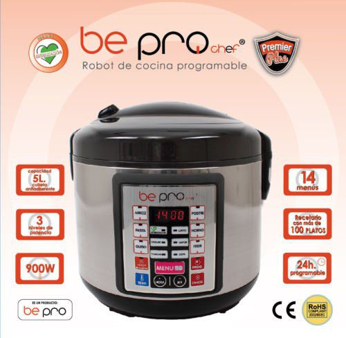 Be Pro Chef Premier Olla Programable